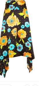 TopShop Boutique Handkerchief Floral Skirt
